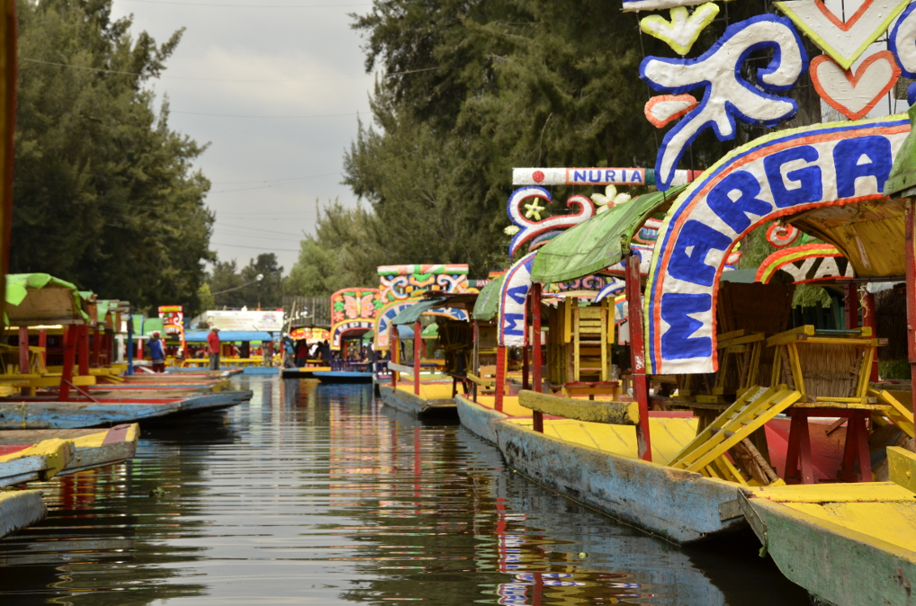 Traverse City Taxi >> Xochimilco – The Venice of Mexico – Greg & Valentina's Excellent Adventure